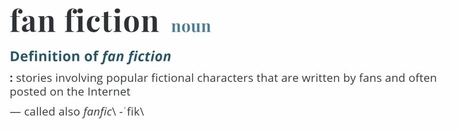 fan fiction definition
